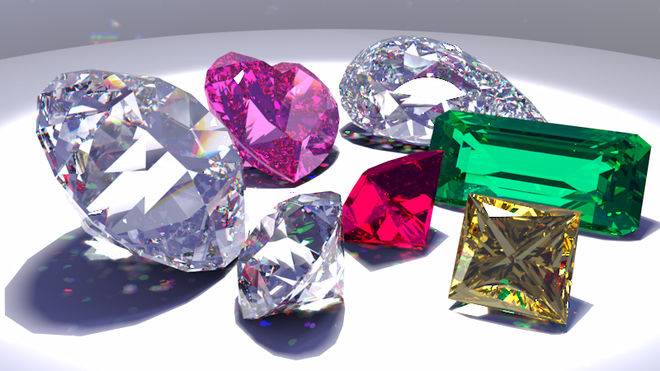 Украина меньше закупает импортных алмазов, но больше их перепродает