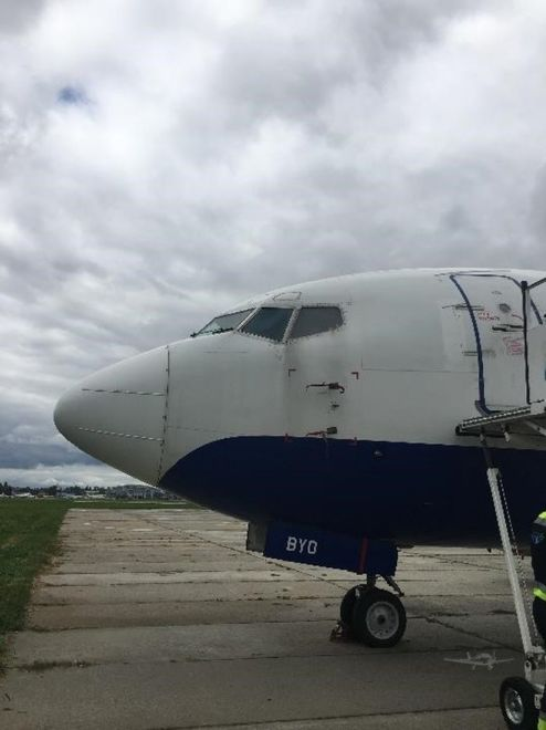 На авиабарахолке продают заблокированный в киевском аэропорту Боинг