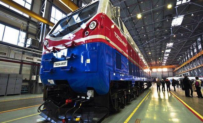 По Украине будут кататься американские локомотивы