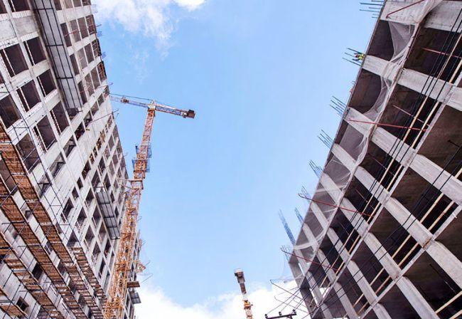 В Украине незначительно снизились объемы строительных работ