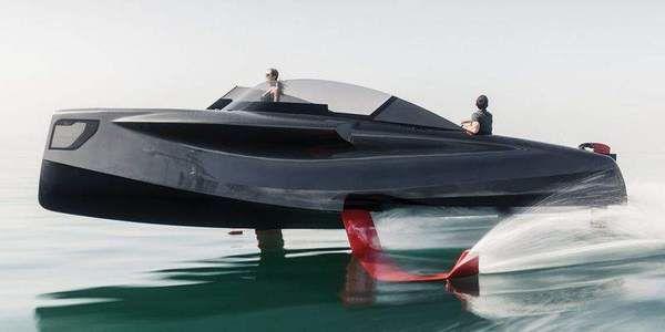 Летающая яхта появилась в ОАЭ