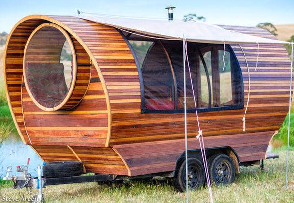 В Австралии создан универсальный дом-вагон на колесах