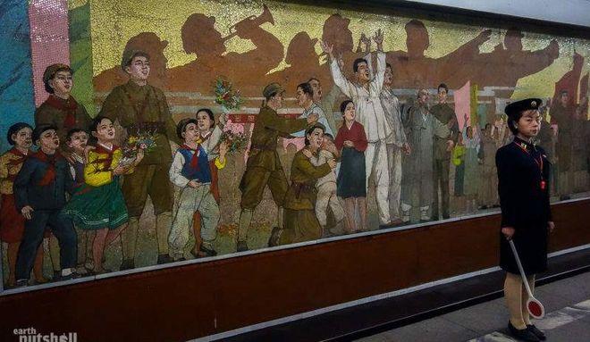 Путешественник показал загадочное метро Северной Кореи
