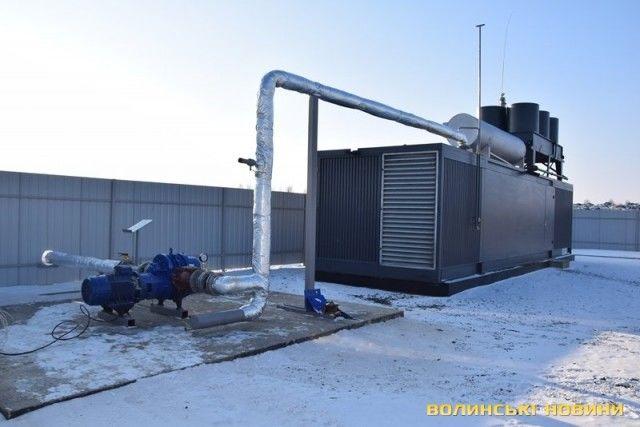 На Волыни старую свалку превратили в биогазовую станцию