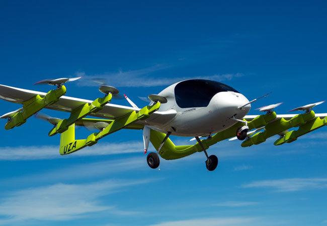 Стартап Ларри Пейджа провел испытания летающего такси