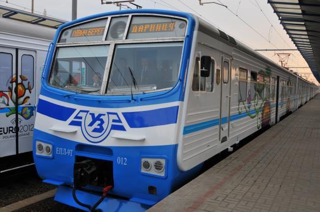 Укрзализныця: челночные электрички поедут еще в 2 города Киевской области