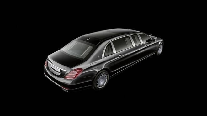 Mercedes-Maybach представил новый лимузин Pullman