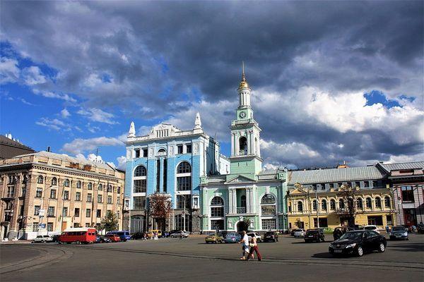 В Киеве собрались реконструировать Контрактовую площадь