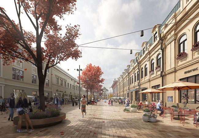 Какой будет Контрактовая площадь после реконструкции