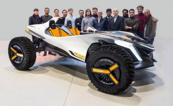 Отголоски Женевы: Hyundai представил машину-амфибию