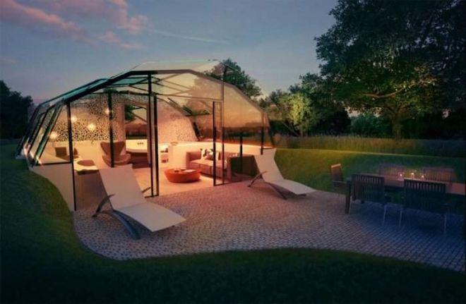 Архитекторы показали проекты домов будущего