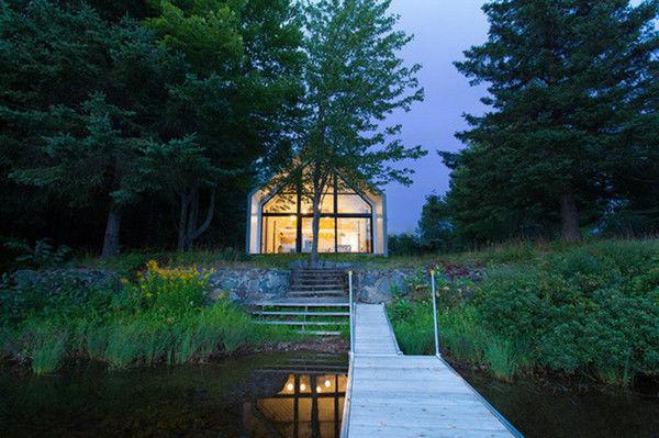Архитекторы сделали дом частью природы