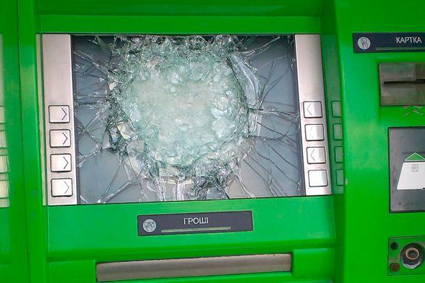 В Харькове взорвали банкомат Приватбанка