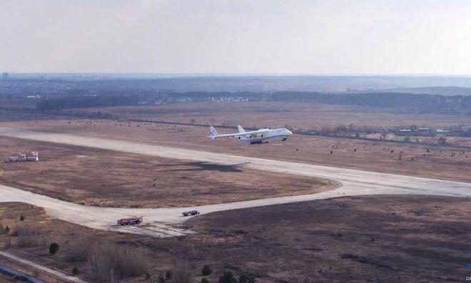 Украинский самолет-гигант «Мрия» уходит вкоммерческий рейс