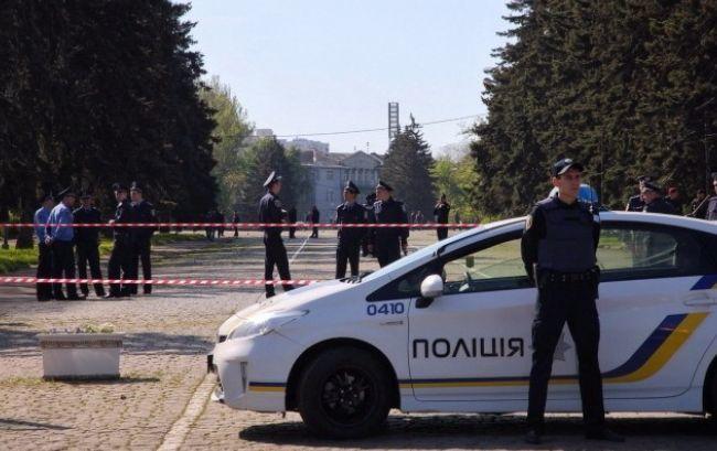 В одном из банков Киева произошел взрыв
