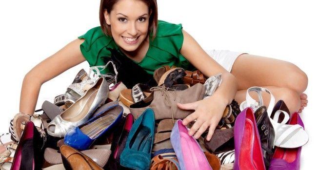 В Украину завезли много импортной обуви