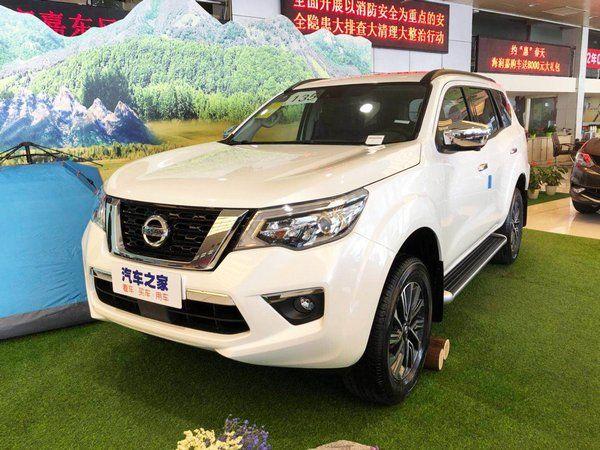 Nissan представила новый рамный внедорожник