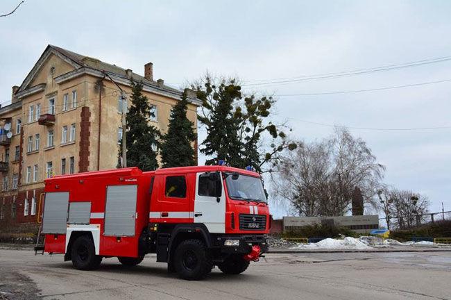 В Украине создали уникальную машину для тушения пожаров