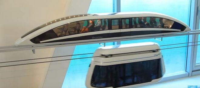 Sky Way на Троещину: в Киеве появится инновационная транспортная система