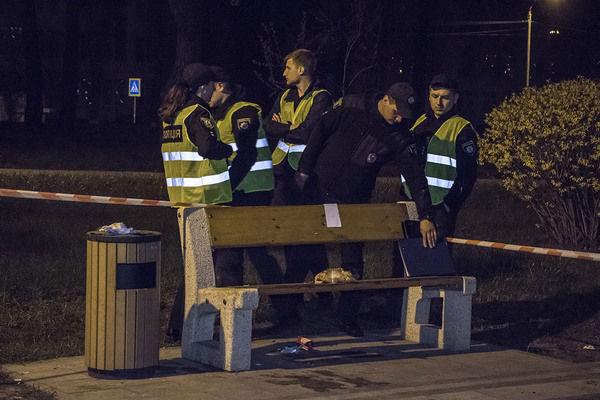 В киевском парке Киото прогремел взрыв