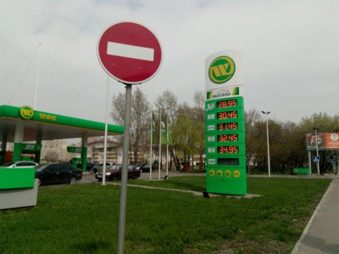 Цены на украинских заправках приготовились к прыжку