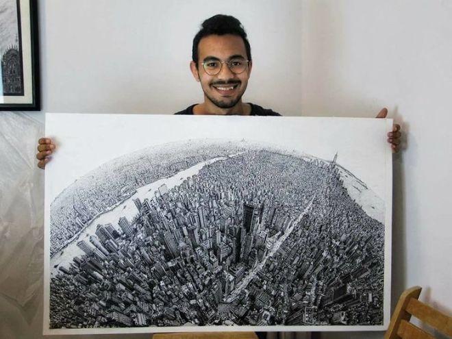 Google Maps своими руками: студент из Египта потратил почти год, чтобы нарисовать Нью-Йорк