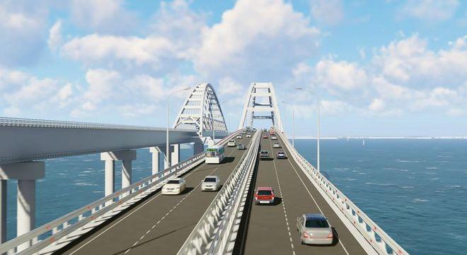 По Крымскому мосту откроют движение автомобилей
