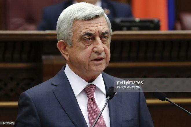 В Армении победила «бархатная революция»: премьер-министр подал в отставку