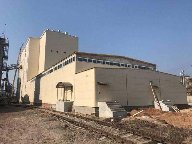 В Кировоградской области построили современную 6-этажную мельницу