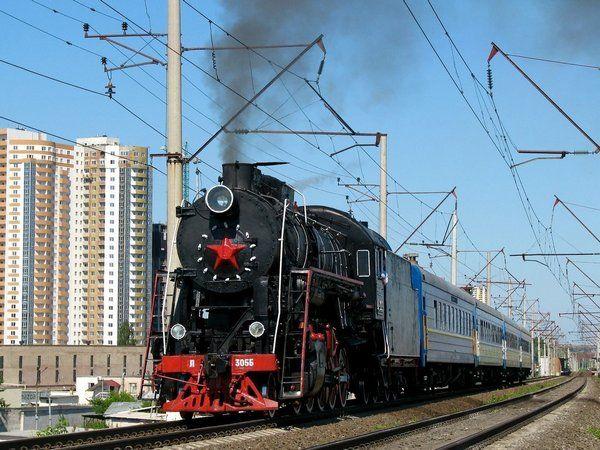 Укрзализныця на майские праздники запустит ретро-поезд