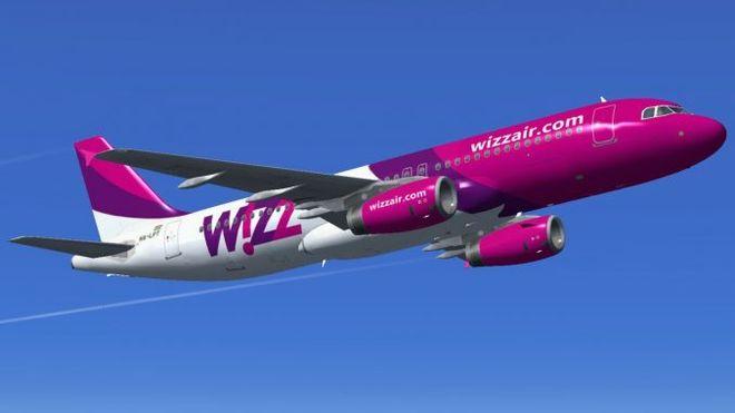 WizzAir запускает новые маршруты из Киева