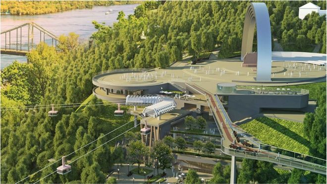 Названы крупнейшие строительные проекты Киева