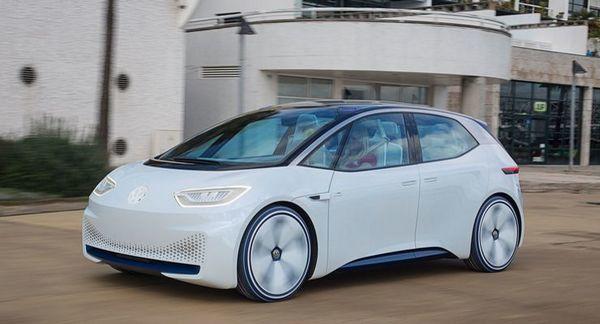 В сети появились фото электрокара от Volkswagen