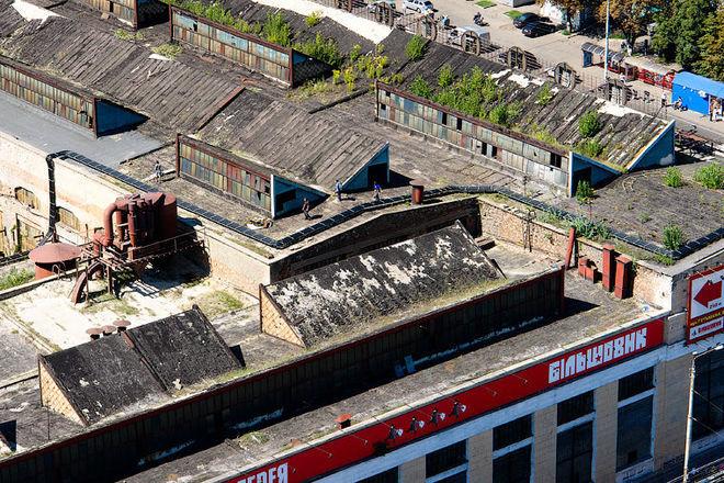 Завод Большевик исчез с карты Киева