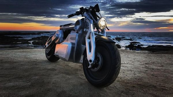Американская компания представила электронный мотоцикл
