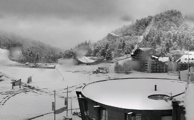 Францию «парализовали» сильнейшие снегопады
