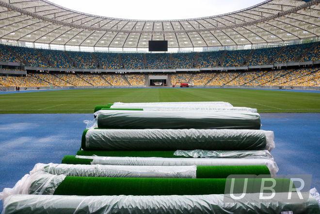 Тут подмажут, там подкрасят: как готовят «Олимпийский» к финалу Лиги чемпионов