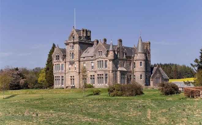 Королевский приз: в Шотландии разыграют в лотерею замок IXX века