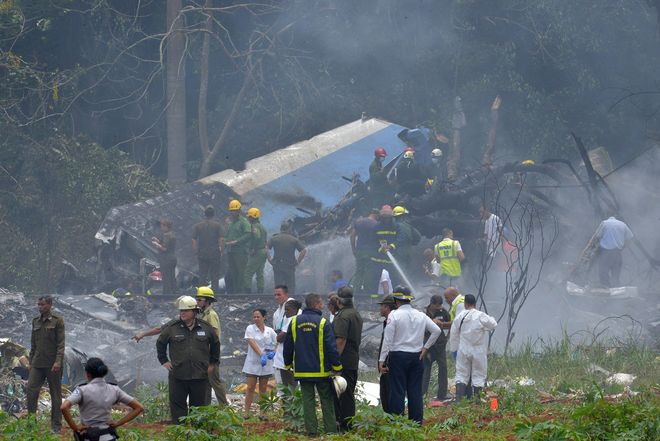 """На Кубе разбился """"Боинг"""" с более чем 100 пассажирами"""