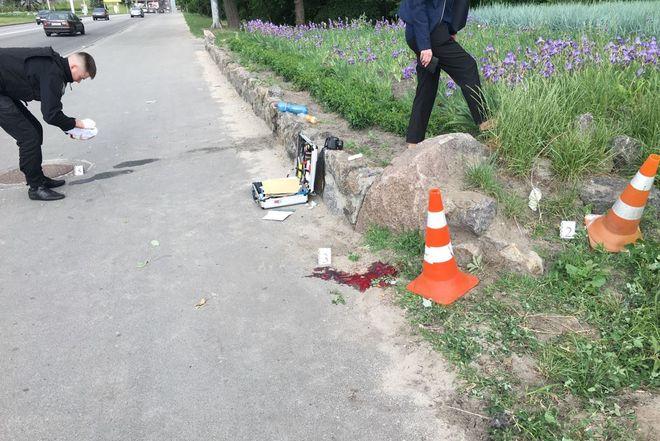 В Киеве рано утром произошла стрельба, есть пострадавшие