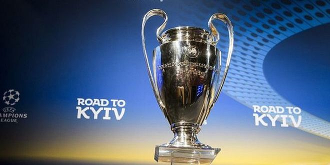 Вечеринка с трансляцией Финала Лиги Чемпионов UEFA, на берегу Днепра