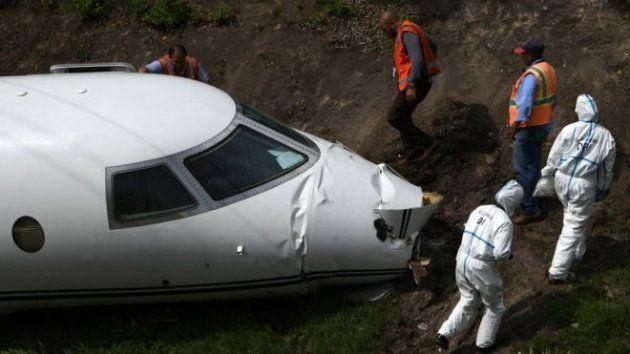 Авиакатастрофа в Гондурасе: cамолет разломан пополам
