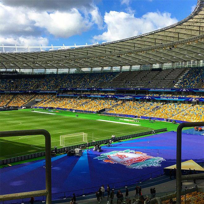 Как подготовили НСК «Олимпийский» к финалу Лиги Чемпионов