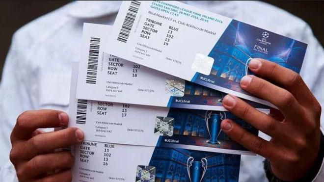 ФФУ спекулирует на билетах финала Лиги чемпионов