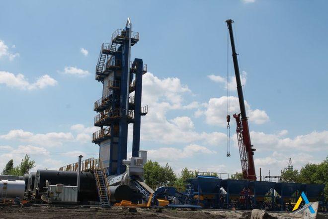 В Кировоградской области откроют асфальтобетонный завод