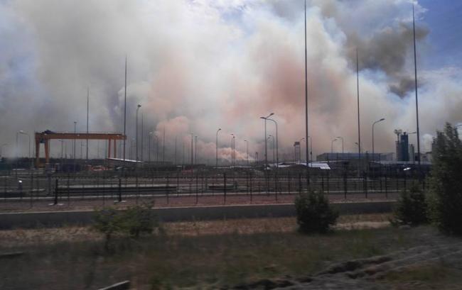 В Чернобыльской зоне горит 10 га леса