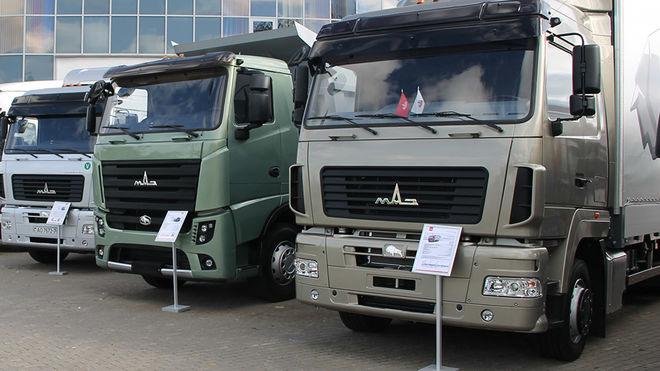 Белорусские грузовики уверенно доминируют на украинском рынке