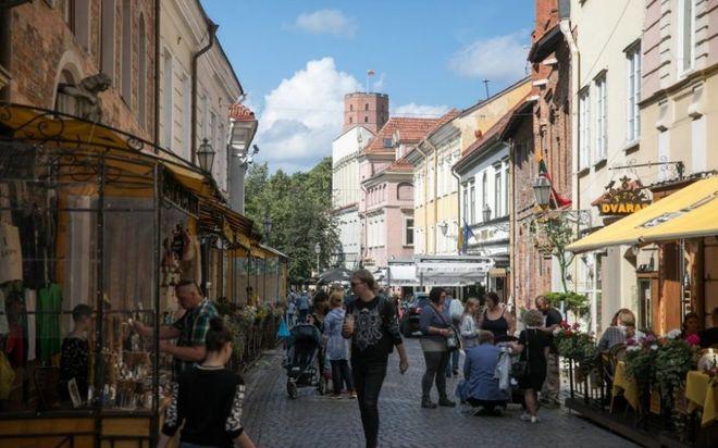 В литовскому Вильнюсе введут новый туристический налог