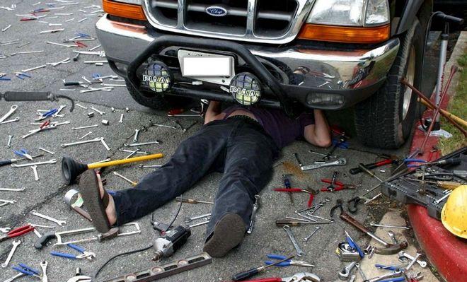 Украинские СТО отказываются ремонтировать авто на «евробляхах»