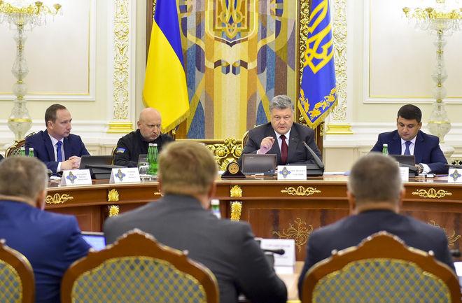 СНБО ввел санкции против российских предприятий и друга Путина